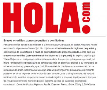 Dr. Alejandro Acuña Revista Hola