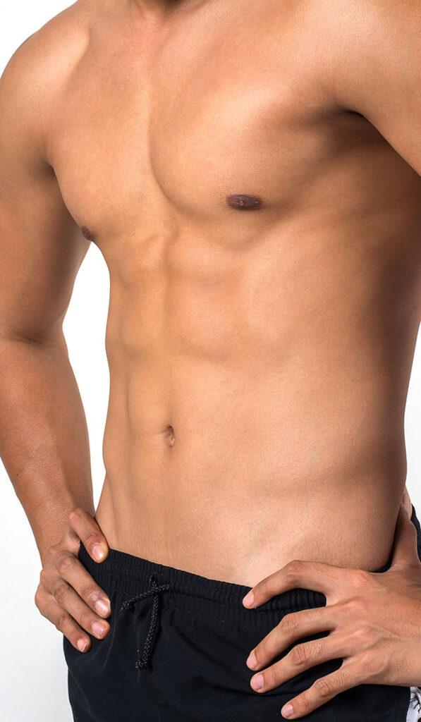 abdomen marcado hombre